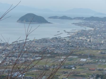 宅並山からの眺め 4