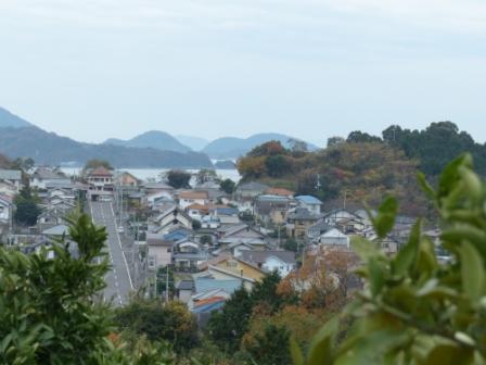 宅並山からの眺め 11