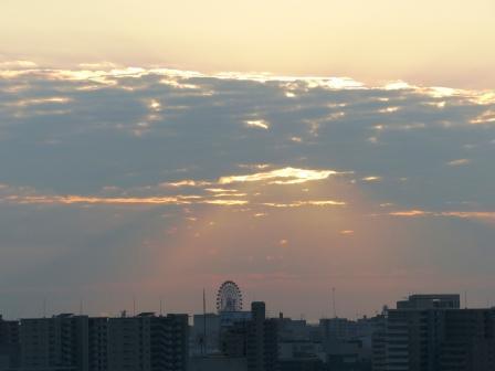 道後公園展望台からの夕景 1