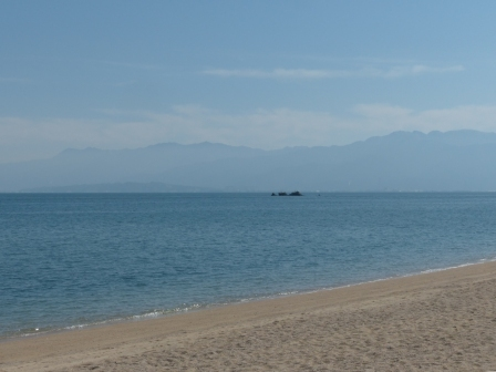 志島ヶ原・綱敷天満神社から見た 燧灘 2