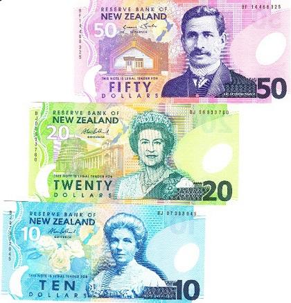 New Zealand ドル