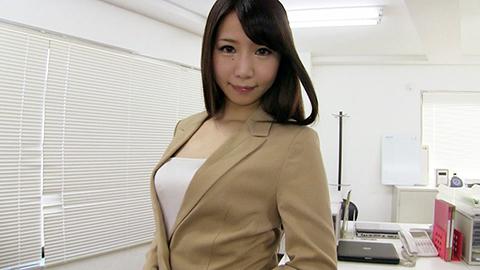 月島杏奈[FNK-026]派遣OL杏奈のお仕事 OLスーツ倶楽部