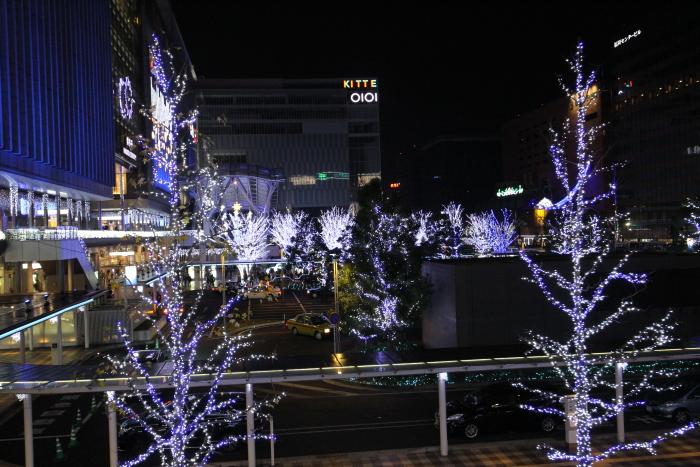 博多駅前イルミ⑤