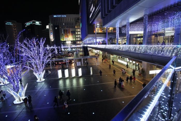 博多駅前イルミ③