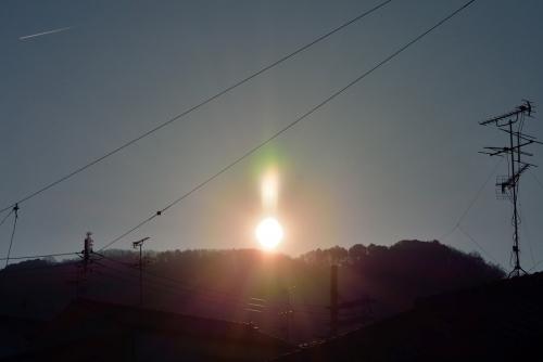 神津嶽の日の出