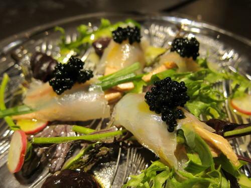 平目の昆布〆 前菜仕立て
