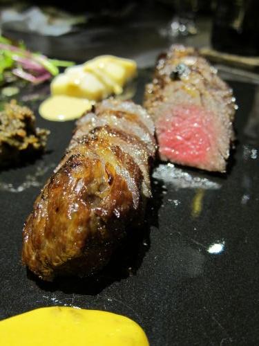 和牛カイノミの味噌付