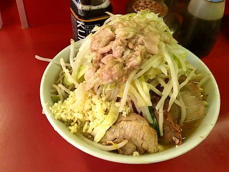 151024_桜台駅前_小ラーメン_ヤサイニンニクアブラ