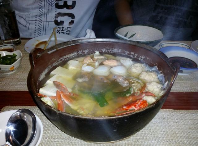 呑気の鍋コース