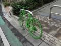 緑の自転車2