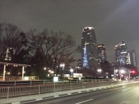 芝公園の夜景