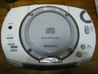 WINTECH CD ALARM CLOCK-014