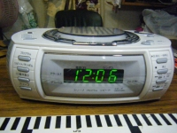 WINTECH CD ALARM CLOCK-013