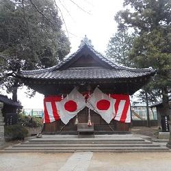 ②滝馬室氷川神社 本殿