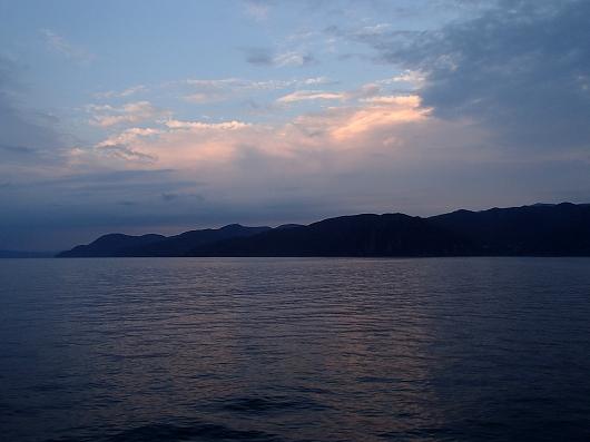 駿河湾フェリー船内10