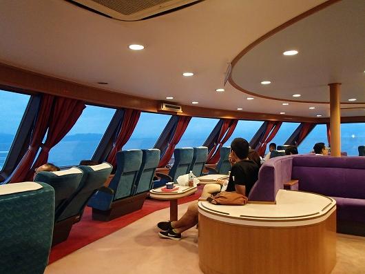 駿河湾フェリー船内12