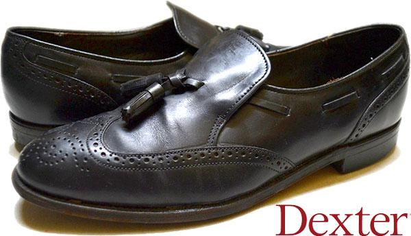 USEDレザーシューズ黒革靴@古着屋カチカチ02