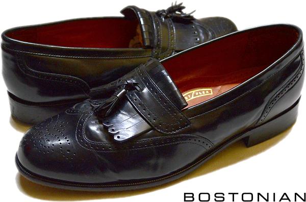 USEDレザーシューズ黒革靴@古着屋カチカチ04