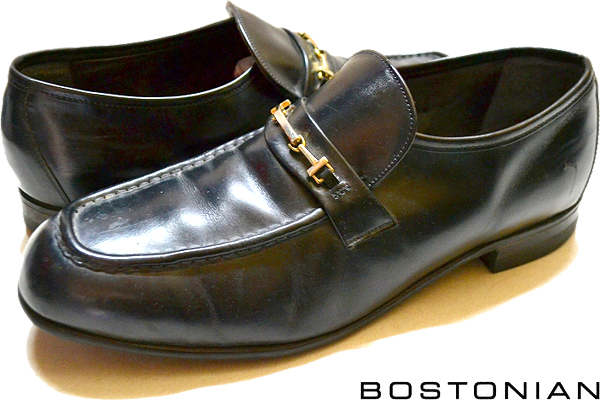USEDレザーシューズ黒革靴@古着屋カチカチ05