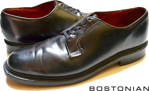 USEDレザーシューズ黒革靴@古着屋カチカチ06