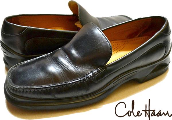 USEDレザーシューズ黒革靴@古着屋カチカチ08