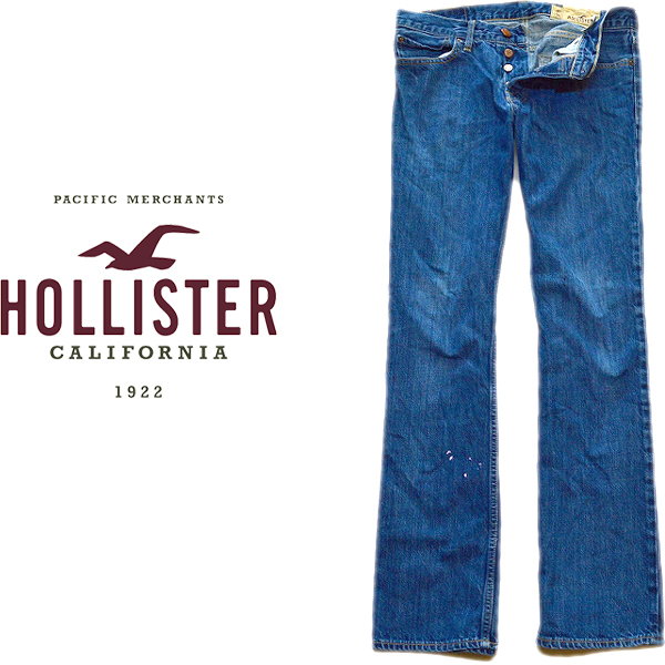 Hollisterホリスタージーンズ画像@古着屋カチカチ010