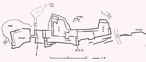 下津井城縄張