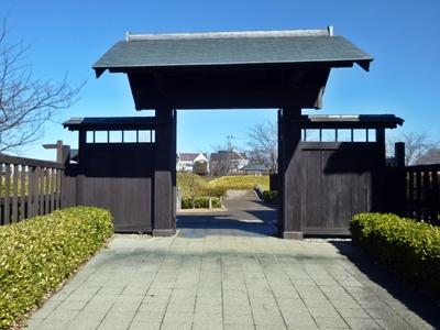 難波田城02