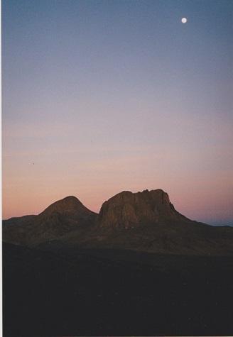 アハガル山地