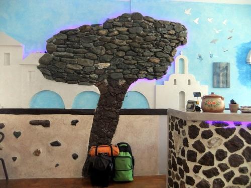 キトノス島での宿 (2)