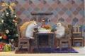 ホットクリスマス_ハリネズミ01