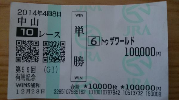 【競馬ネタ】ひとレースに使った最高金額