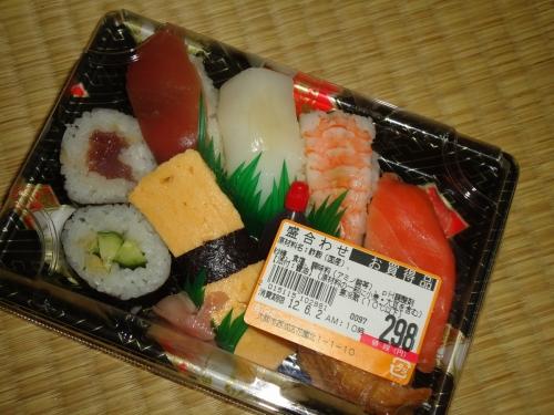 【競馬板】スーパーのパック寿司て必ず無能が一貫いるよな