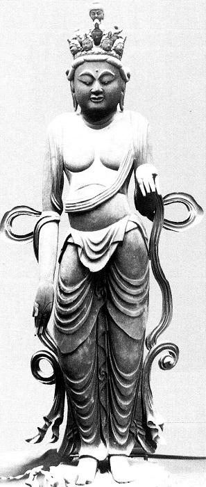 中山寺・十一面観音像
