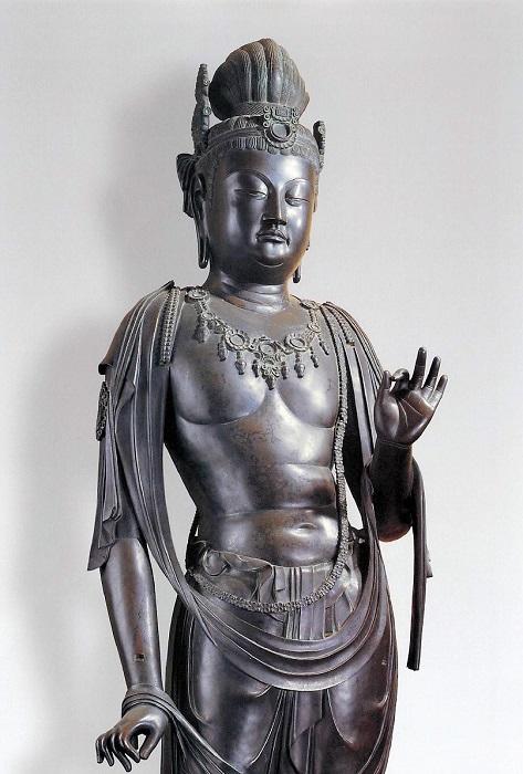 薬師寺金堂・月光菩薩像