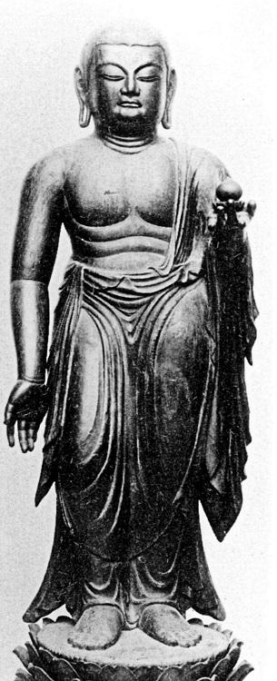 広隆寺・地蔵菩薩像(埋木地蔵)~9C・重文