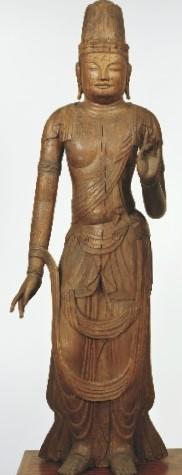 奈良国立博物館・観音菩薩立像(亀岡大宮神社伝来)