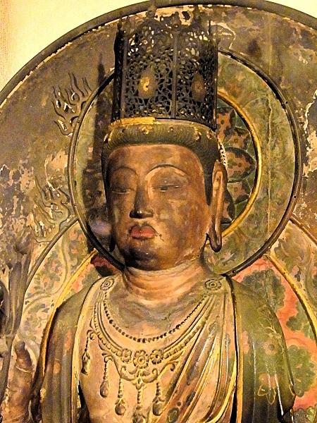 額安寺・虚空蔵菩薩像(木心乾漆・奈良時代・重文)