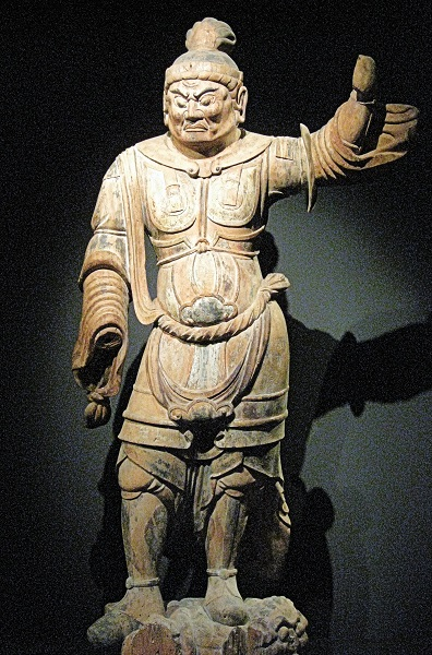 文化庁平成22年度購入・大宮神社伝来・天王像