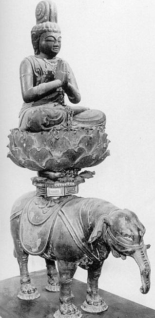 文化庁平成26年度購入・圓證寺旧蔵・普賢菩薩騎象像