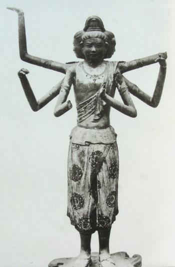 日本精華掲載の興福寺・阿修羅像