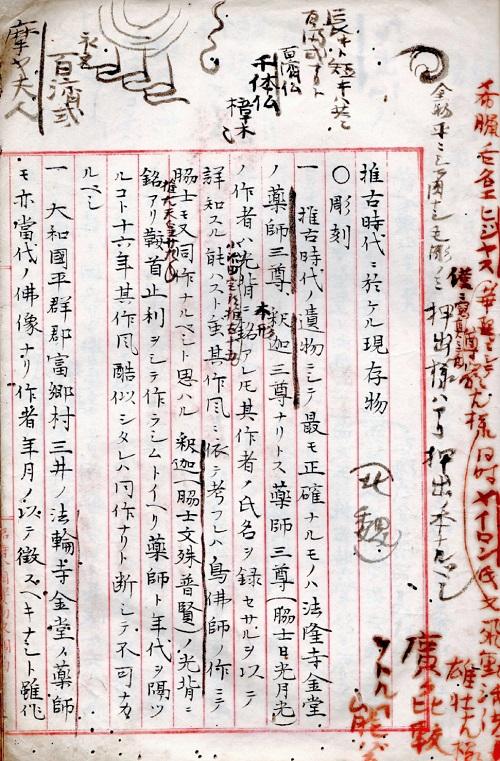 美術史・解説原稿~推古時代1