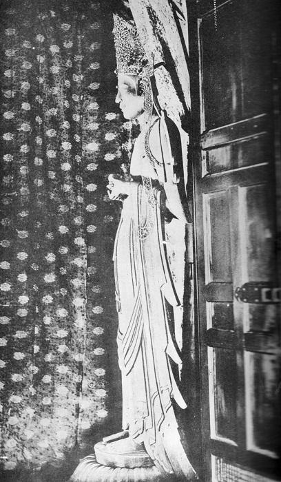 稿本帝国日本美術史収録~法隆寺夢殿・救世観音像