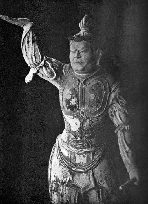 稿本帝国日本美術史収録~東大寺戒壇堂・四天王多門天像