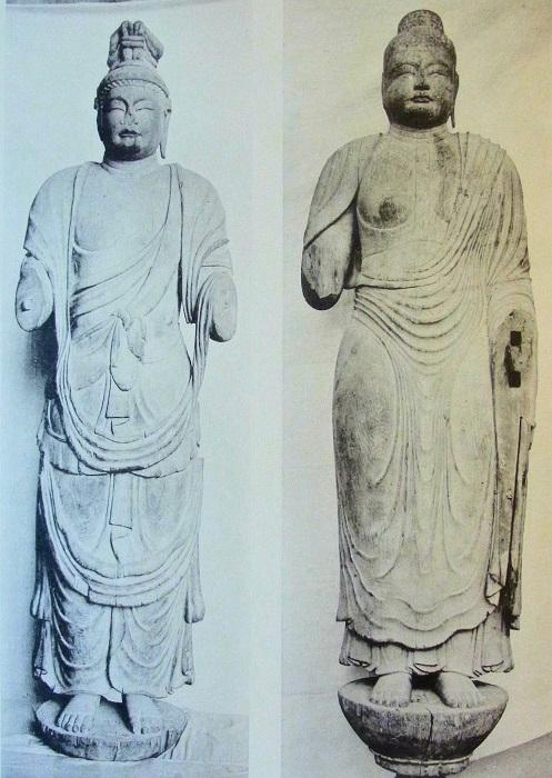 国宝帖収録~唐招提寺・伝獅子吼菩薩像、伝薬師如来像