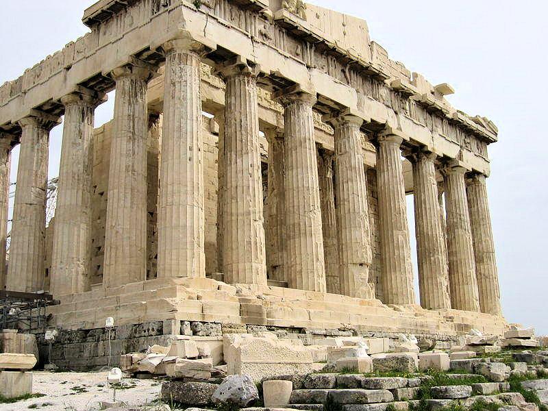 ギリシャ・パルテノン神殿