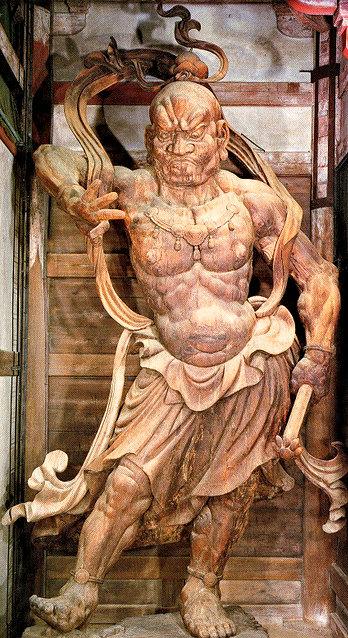 東大寺南大門・金剛力士像(吽形像)
