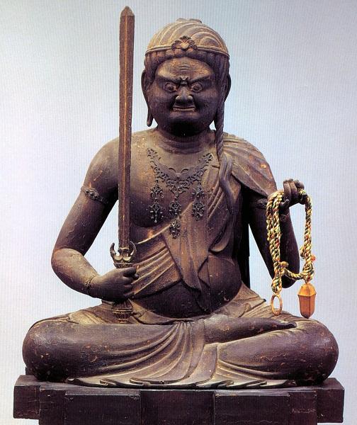 京都~大覚寺・不動明王像(明円作)