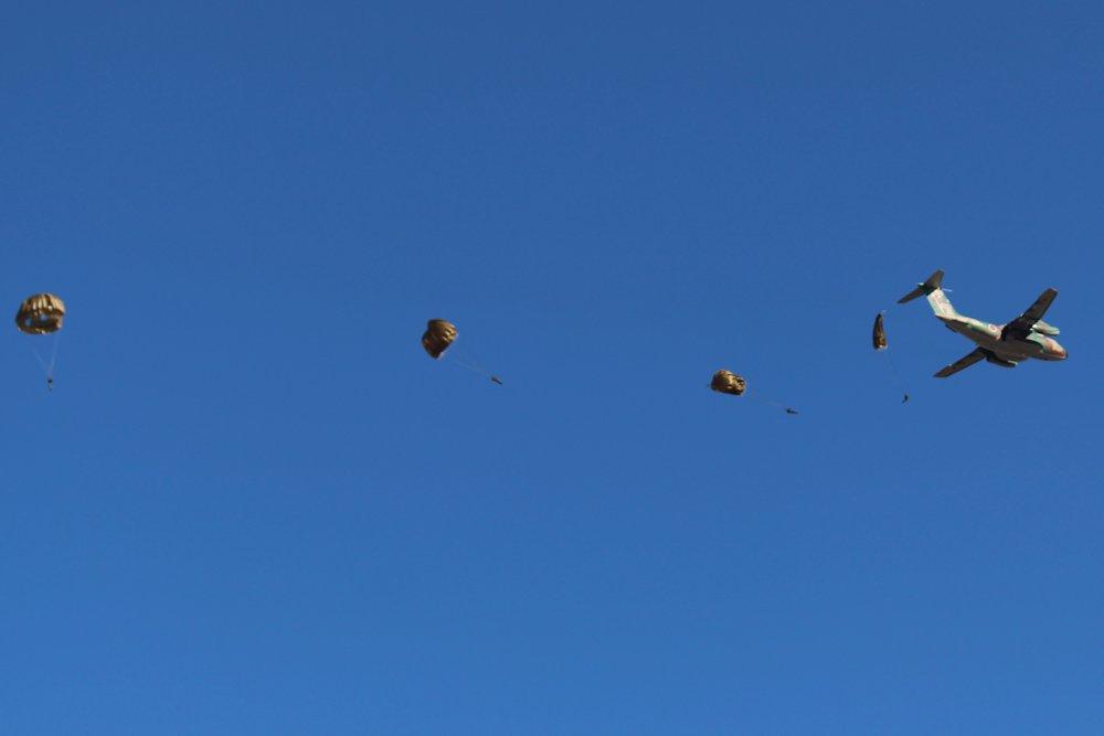 第一空挺団降下始め 030