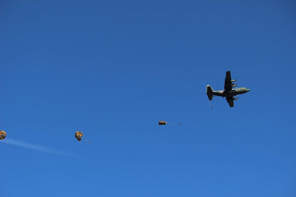 第一空挺団降下始め 036